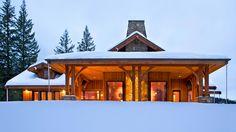 Mountain Architects: Hendricks Architecture Idaho – Small Mountain Home Coeur d'Alene