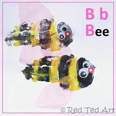 Handprint Alphabet B is for.... what's next?!