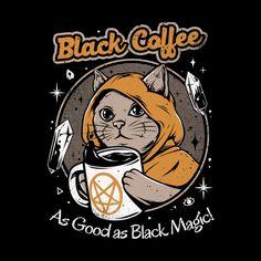 Arte Punk, Bizarre Art, Baphomet, Black Coffee, Coffee Cat, Coffee Girl, Starbucks Coffee, Coffee Hound, Coffee Shop