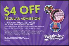 Save $4 at Adventuredome in Las Vegas