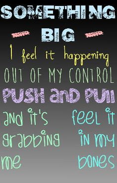 something big - shawn mendes  (aka my favorite song right now)  also made by meee. cx