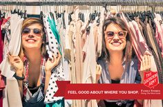 Feel good about where you shop.   By shopping at The Salvation Army Family Stores you are helping fund the organization's Adult Rehabilitation Center. Proceeds from your purchase provide a clean and healthy living environment, food and counseling to those suffering from addiction.