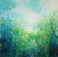 "Saatchi Art Artist: Sandy Dooley; Acrylic 2014 Painting ""Cloudburst"""
