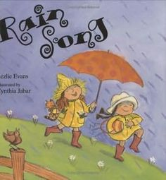 Rain Song The First Grade Parade: Onomatpoeia. This book offers rhyming words describing the sounds of rain. Preschool Music, Music Activities, Teaching Music, Kindergarten Music, Kids Music, First Grade Parade, First Grade Reading, Mentor Texts, Music Classroom