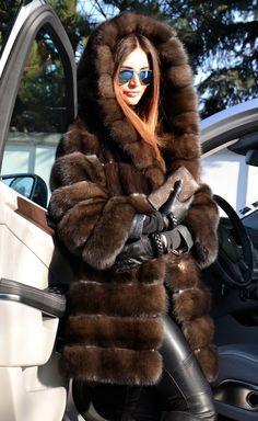 Sable fur parka                                                                                                                                                                                 More