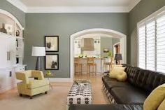 Image result for interior design black leather couch