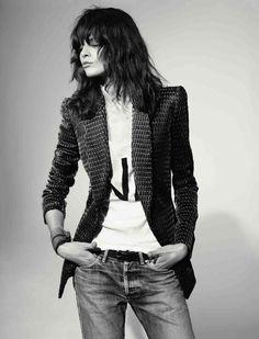 la modella mafia Rocker Couture - Melissa Stasiuk x Vogue Russia April 2012 photographed by Richard Bush 1