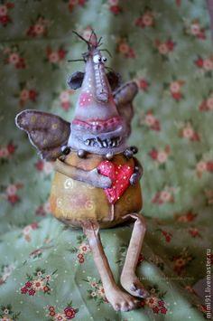 Куклы и игрушки ручной работы. Ярмарка Мастеров - ручная работа Ангел Жмых. Handmade.