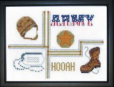 cross stitch patterns army free | Seaside Sweethearts ( Cross Stitch ) (Leisure Arts #3235) 1574869698 ...