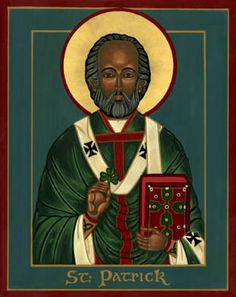 Did you know that Saint Patrick's name at birth was Maewyn Succat? He was born somewhere near the end of the fourth century and took on the name Patrick or Patricus, after he became a priest, much later in his life. At the age of sixteen Maewyn Succat was kidnapped from his native land of Britain, by a band pirates, and sold into slavery in Ireland. Maewyn worked as a shepherd and turned to religion for solace. After six long years of slavery he escaped to the northern coast of Gaul. Irish Baby Names, Images Of Christ, Black Jesus, Black Death, Heavenly Father, History Facts, Native American Indians, Ancient Art, Middle Ages