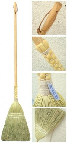 Shaker Braid Broom - purchased at Pleasant Hill Shaker Village - the best broom ever