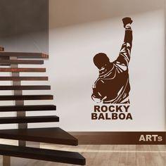 (3793n) Nálepka na stenu - Rocky | ARTSABLONY.SK