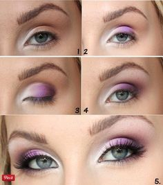 18 Beautiful eye makeup tutorials you will love! Get your pink eyeshadow at a Duane Reade near you.