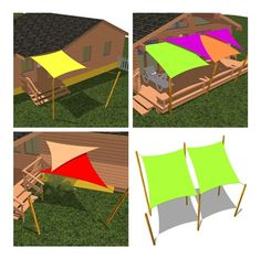 Amazon.com : Cool Area Triangle 16 Feet 5 Inches Durable Sun Shade Sail with Stainless Steel Hardware Kit, UV Block Fabric Patio Shade Sail in Color Cream, furniture : Patio, Lawn & Garden