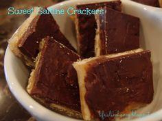 Sweet Saltine Crackers!