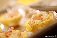 Kuchnia Bazylii: Zapiekane, nadziewane ziemniaczki boczkiem i cebulą