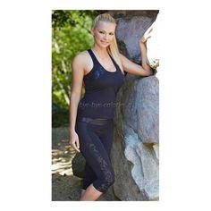 Купить женский костюм для фитнеса Glenn (Глен) с бриджами в интернет-магазине Бай бай калории