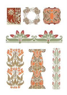 ���� #35 - Art Nouveau. Designs - irilena
