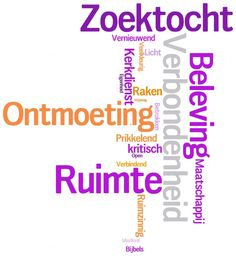 Website - Wordle Open Pastoraat - Paars-Oranje