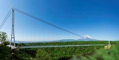富士山を見ながら空中散歩!静岡県・三島に「大吊り橋」がオープン | RETRIP