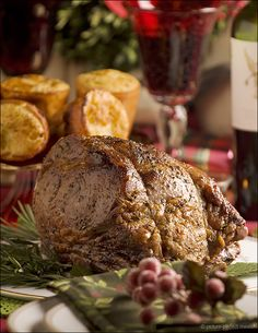 Roast Beef with Yorkshire Pudding - a fine feast indeed!