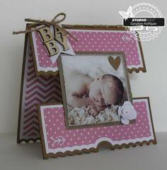 Geralien & # s Kreationen: Baby Source by ineduynhouwer Baby Health, Kids Health, Baby Girl Cards, New Baby Cards, Folded Cards, Gifts For Kids, Cardmaking, New Baby Products, Birthday Cards