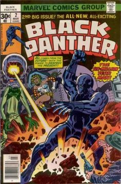Black Panther - if Jack Kirby could come back to one character, I think I'd want it to be this one.