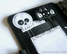 The Everyday Goth: DIY Goth Planner Pagemarkers