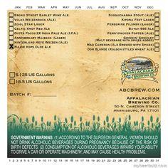 Appalachian Brewing Major Hops Olde Ale, Mad Cameron & Dom Blonde