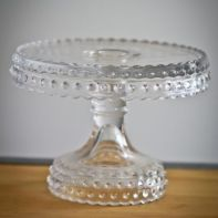 plethera of cake stands - all style all colors