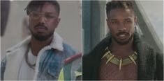 New Black Panther Trailer Shows Us What Marvel's Been Hiding Michael Bakari Jordan, Panther Pictures, Superman Lois, Erik Killmonger, Handsome Black Men, Black Panther Marvel, Bae, Attractive Men, Man Crush