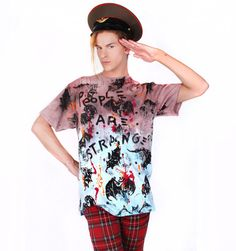 Scooter LaForge Flying Bat Tee   Patricia Field