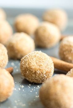 Snickerdoodle Protein Balls - for an afternoon snack!