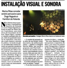 #BossaNegra O Globo Shows, Broadway, Singers, Theater, Speech Balloon