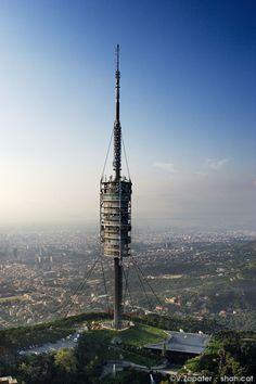 Collserola Telecommunications Tower. Barcelona