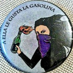 Gasolina Feminist Af, Feminist Quotes, Arte Latina, Arte Punk, Protest Art, Smash The Patriarchy, Riot Grrrl, Passion Project, Chile