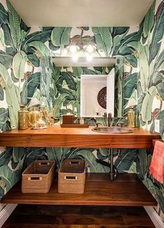 Banana Leaf Print Inspiration