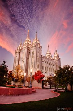 Pictures of LDS Temples