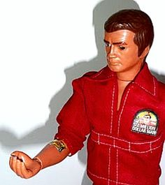 Six million dollar man action figure.  Had one. Loved it!