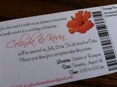 At Home Reception Invitation Deposit by alisamariedesigns on Etsy, $25.00
