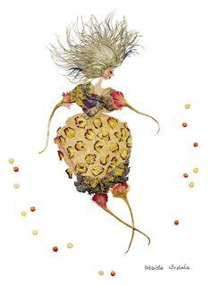 Dried floral art by Elzbieta Wodala