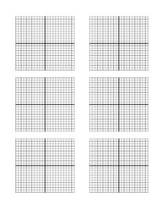 Kitchen Design Graph Paper Captivating Free Printable Graph Paper With X And Y Axis  Blank Coordinate Decorating Inspiration