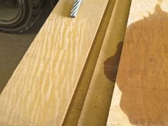Bilinga  - A great wood for outdoor applications.  (And wonderful golden heartwood!)