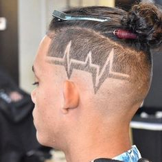 Cool Haircut Designs For Guys - Shaved Lines - Best Hair Designs For Men: Cool Fade Haircut Designs For Guys and Boys Boys Haircuts With Designs, Haircut Designs For Men, Hair Designs For Boys, Cool Hair Designs, Mens Hair Designs, Awesome Designs, Kids Braided Hairstyles, Undercut Hairstyles, Hairstyles 2018