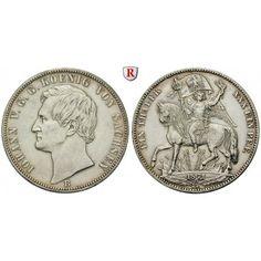 Sachsen, Königreich Sachsen, Johann, Siegestaler 1871, ss-vz: Johann 1854-1873. Siegestaler 1871 B. AKS 159; sehr schön -… #coins