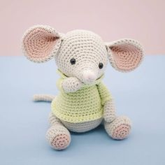 Amigurumi crochet cute mouse  Albert the mouse PATTERN ONLY
