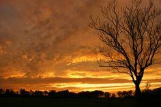 Sun set Holland