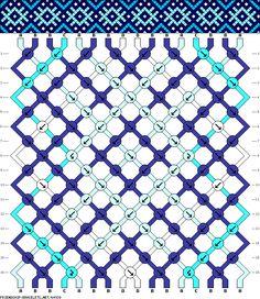 16 strings, 16 rows, 4 colors