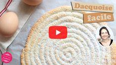 vidéo de la dacquoise Cookies Et Biscuits, Favorite Recipes, Kids Rugs, Crackers, Desserts, Cake, Recipes, Almonds, Raspberries