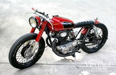 1969 Honda CB350 - Vintage Customs - Pipeburn - Purveyors of Classic Motorcycles, Cafe Racers Custom motorbikes